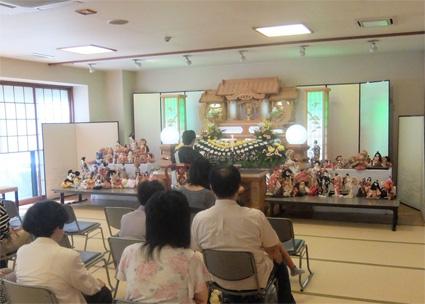 山口県岩国市 永代供養 葬祭文化展 相談コーナー人形供養